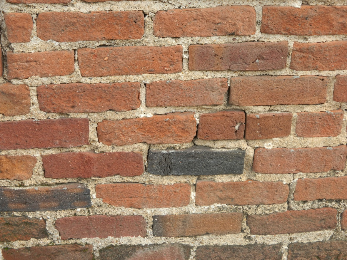Photo of a brick wall intended as a background